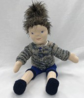 Suzie, Waldorf style doll