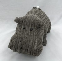 Soft Cuddly Hippo Toy