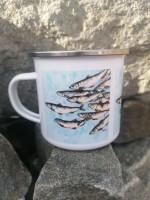 Enamel Mug. The Shoal