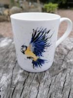 Bone China Blue Tit Mug