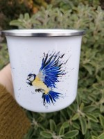 Enamel Mug The Bluetit