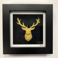 Ramsay stag (gold)