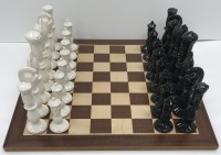 Chess set with chest