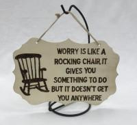 Wall hanger Large - Rocking chair