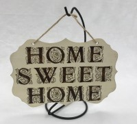 Wall hanger Large -Home sweet home