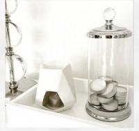 Aspen Tea Light Burner - White