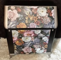 Floral patterned Lebus Bureau!