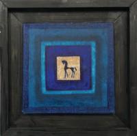 Blue Horse Icon