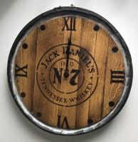 Whisky Barrel Clock.