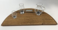 Flight Tray with Glencairn water jug and glasses