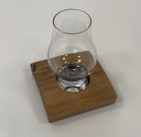 Glass holder with Single Glencairn glass