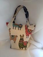 Cute llama bag