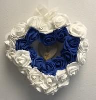 Thank you NHS Foam Rose Wicker Heart Wreath